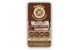 Crispy Coconut - Stevia Sweetened Chocolate Bar
