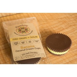 Banana Coconut Cream Cups 2-pack