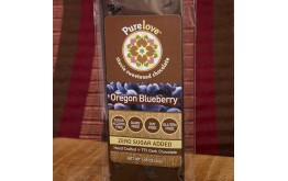Oregon Blueberry - Stevia Sweetened Chocolate Bar