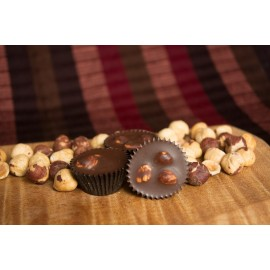 Hazelnut Meltaway dark chocolates