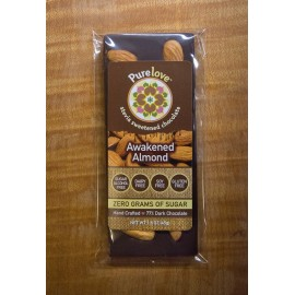 Awakened™ Almond - Stevia Sweetened Chocolate Bar