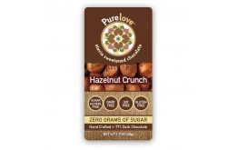 Hazelnut Crunch - Stevia Sweetened Chocolate Bar