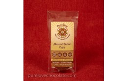 Almond Butter Cups 2-pack - Low Carb, Stevia Sweetened, Organic, Vegan
